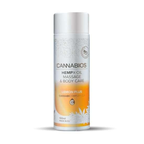 Aceite corporal Cannabios X-Oil Limon